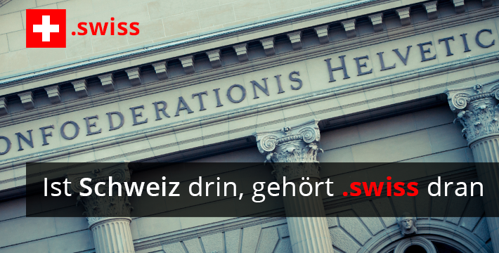 Neue .swiss Domainendung